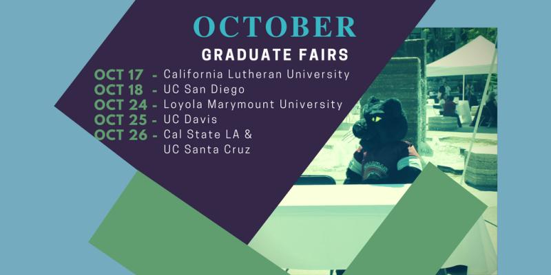 We're excited to meet you at these Graduate Fairs! https://t.co/uU3lUqjQlf https://t.co/uIgIjLErAt