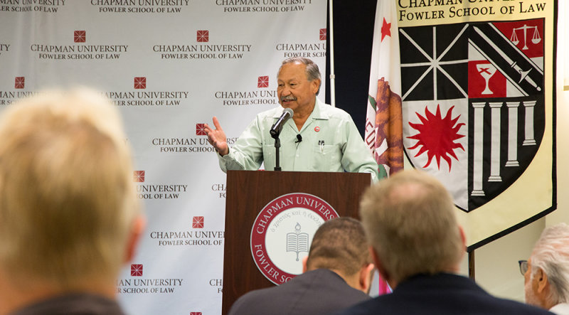 Chapman Dialogue Addresses the Future of the Agricultural Industry with United Farm Workers of America President Arturo Rodriguez