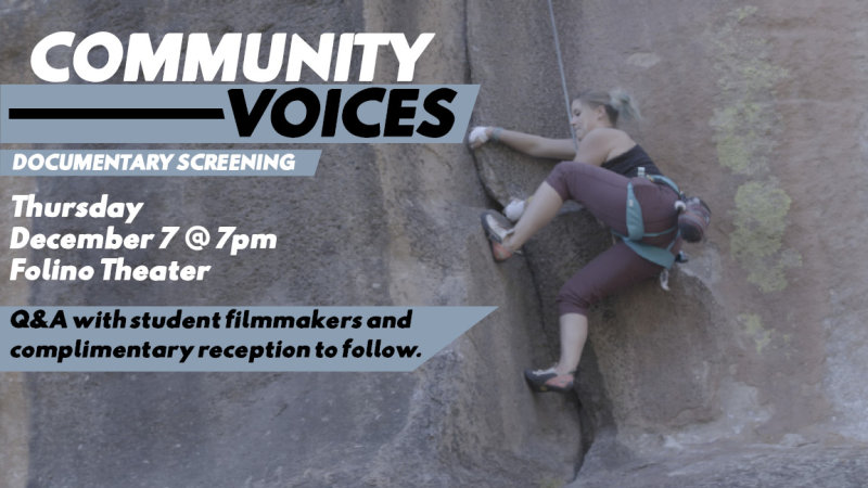 Community Voices Documentary Film Screening