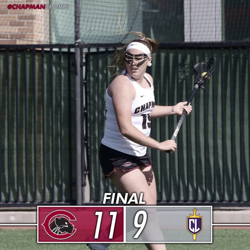 We had a few games today....check out how the Panthers did in a full day of action!! #weCUpanthers👀 #ChapmanU https://t.co/dEjQVnk4Gb