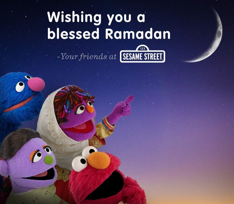RT @sesamestreet: Wishing you a blessed Ramadan! https://t.co/vca7ee4bMU