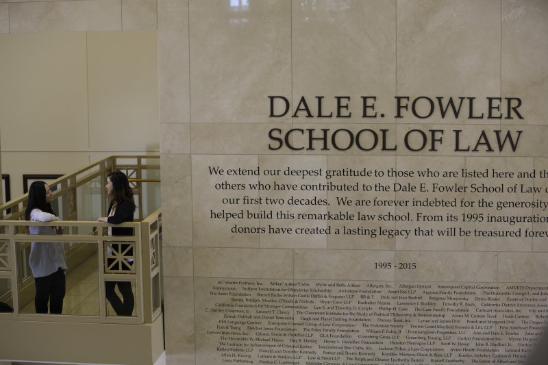 Awards, Competition Wins and Top Rankings Cap Off Anniversary Year at Fowler School of Law