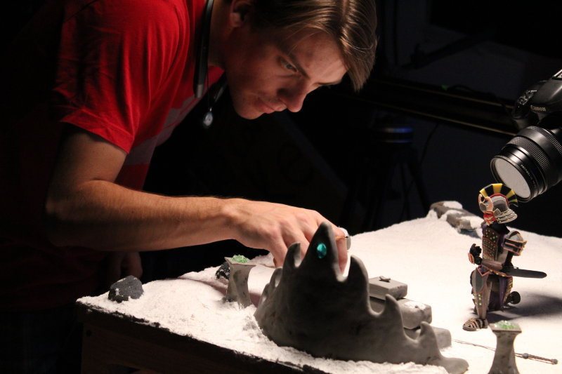 Stop Motion Marries Visual Effects and Animation to Tell a Warrior's Story