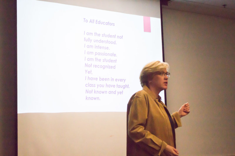 Chapman GRA Lisa Boskovich shares her experiences on the spectrum with her Alma Mater, California State University, Fullerton