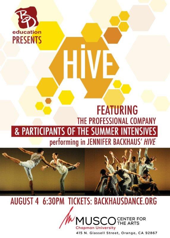 RT @backhausdance: ONE NIGHT ONLY! Don't Miss BD Education Presents: Hive (August 4) - https://t.co/6vbGIVF7n5 https://t.co/4WGYNZdzQQ