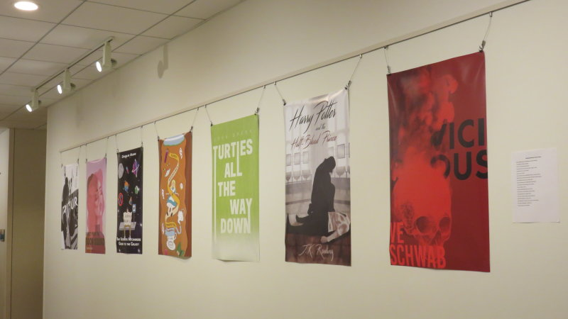 Student Reading Revamp Exhibit Opens at the Leatherby Libraries