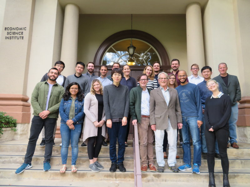 The 2019 Graduate Student Workshop in Experimental Economics