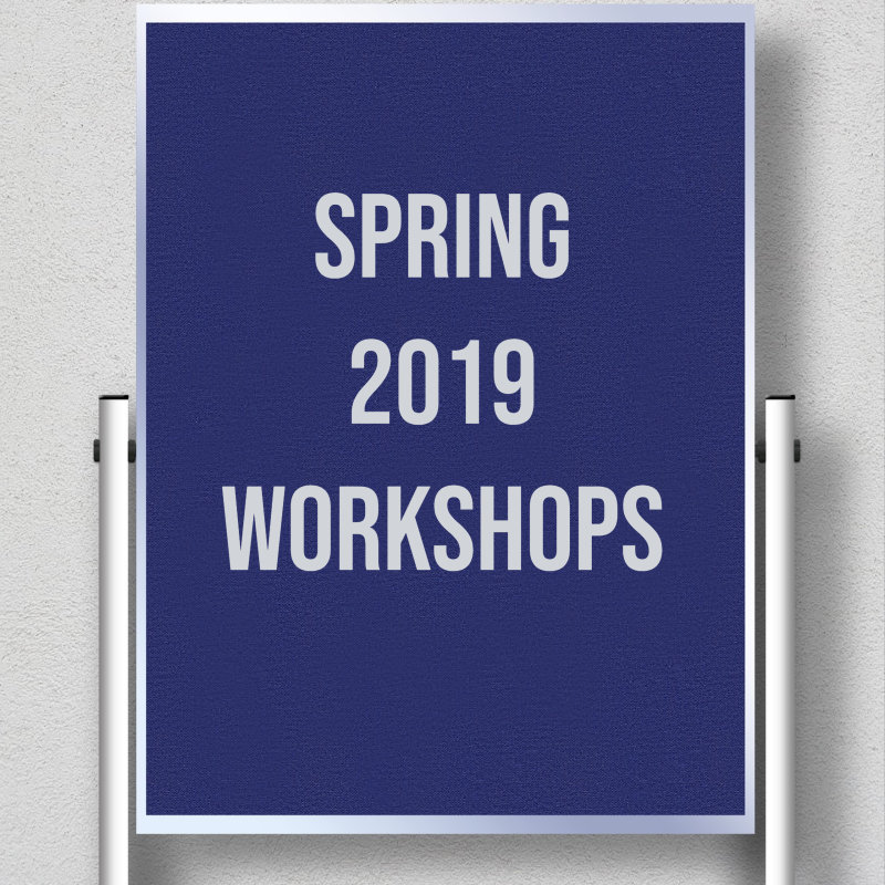 Educational Technology Workshops for Spring 2019