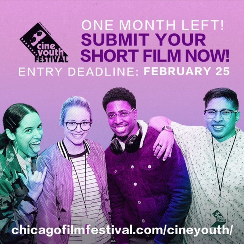 From now until Feb. 25 @CineYouth is offering Chapman students 50% off the submission fee! https://t.co/8oum4aOOP9 https://t.co/fp3tsxeivo