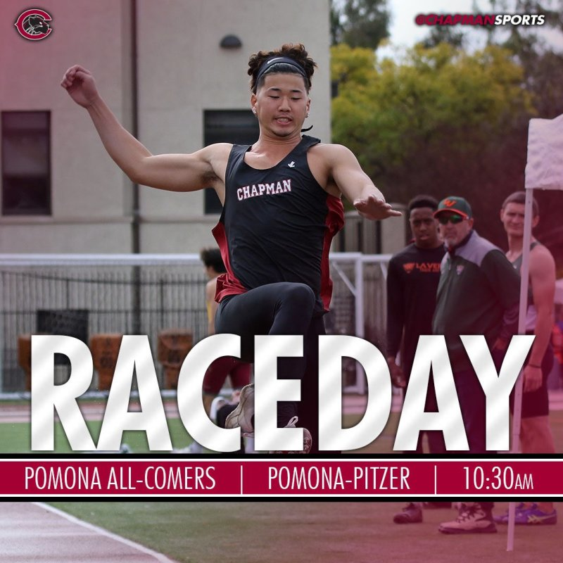 In the pool, on the track, in the tee box and out at Hart Park it is GAMEDAY! Let's go Panthers! #CUthere👀 #ChapmanU https://t.co/y3eAmFbZdL