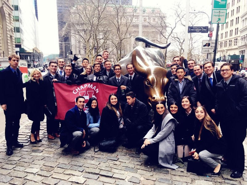 Connor Broughton's '19 (MBA '20) Walk Down Wall Street