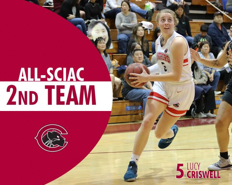And congrats to Lucy Criswell on 2nd Team honors! #weCUlucy👀 #ChapmanU https://t.co/xPsUeTbW1D