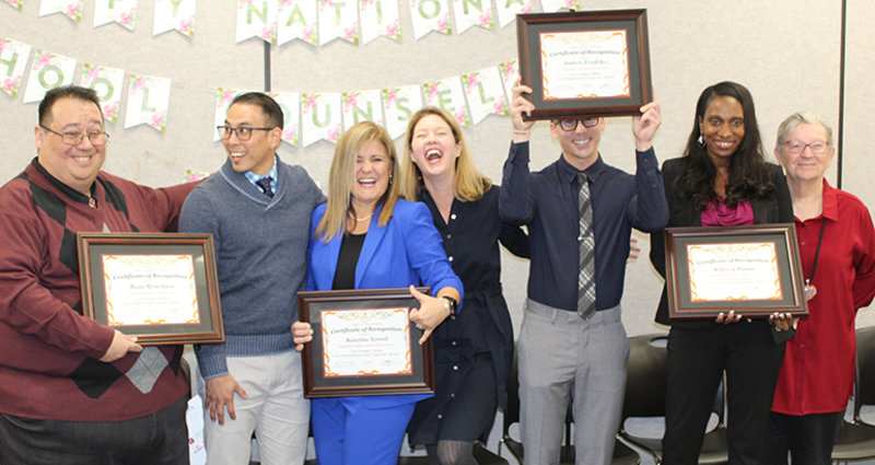 Attallah School Counseling Alumni and Faculty Receive Highest Honor in Orange County