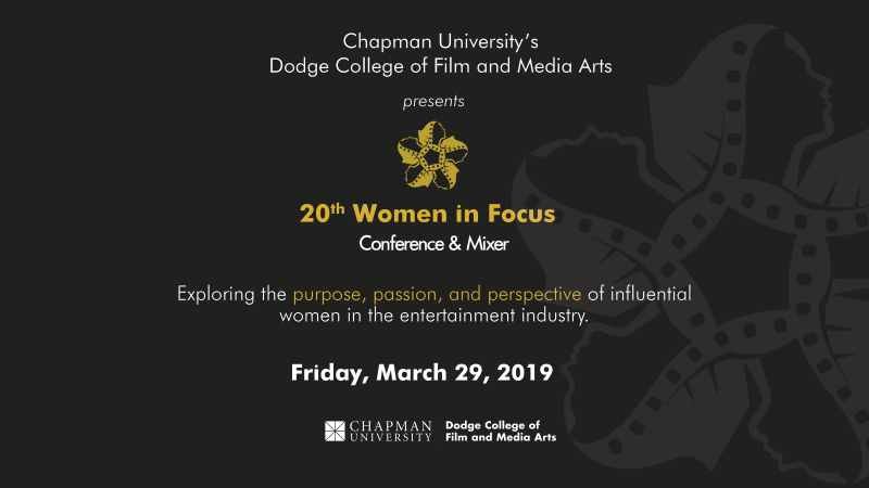 Janice Chua, Bonnie Curtis, Lori McCreary and Vanessa Morrison Headline Chapman University's 20th Women in Focus Conference