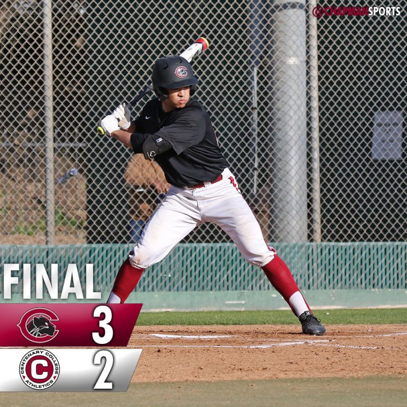 A busy Sunday at Chapman was highlighted by a walkoff win at Hart Park! #weCUpanthers👀 #ChapmanU https://t.co/Eh9dUdIrDe