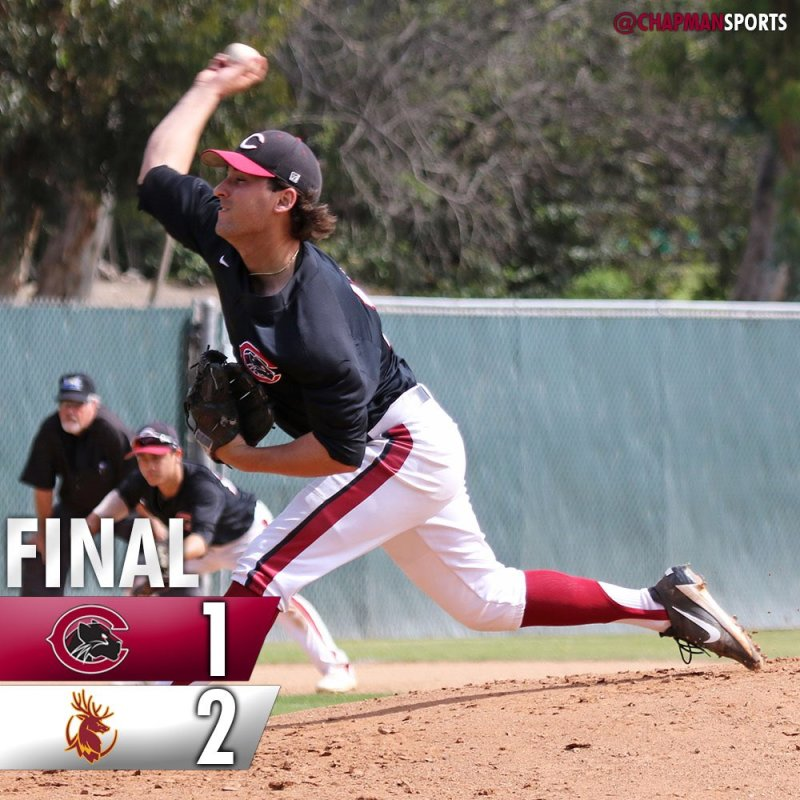 Women's tennis with a big win and Hernandez strikes out 10 in a close loss for baseball. #weCUpanthers👀 #ChapmanU https://t.co/55gGetHSFI
