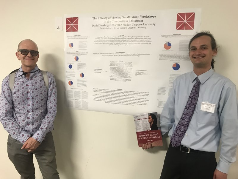 Chapman University's Graduate Student Research Showcase