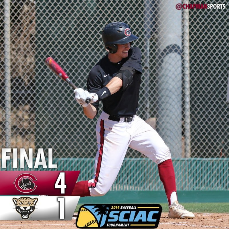 The Panthers are on to the Championship game tomorrow at 11am! #weCUpanthers👀 #ChapmanU https://t.co/bh5aLRudYx