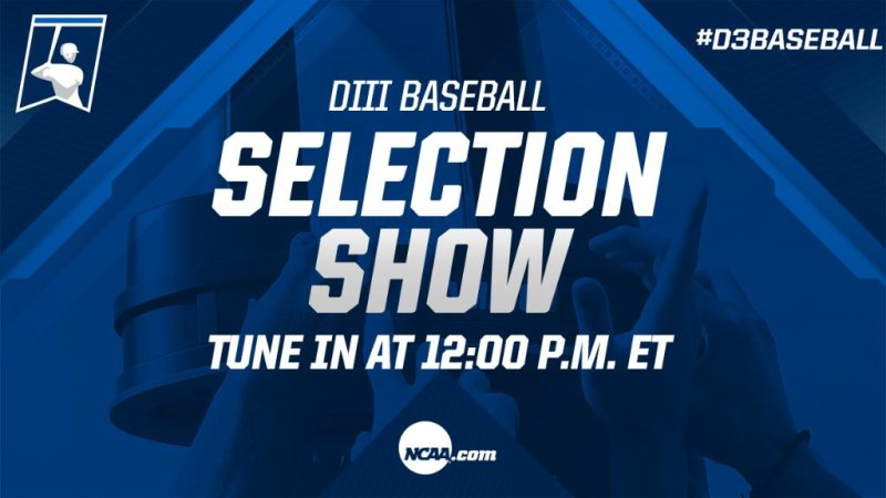 RT @NCAADIII: 🚨 TUNE IN 🚨  The #d3baseball selection show is coming up soon!  https://t.co/DphPYHsQ9L https://t.co/Qu0sA6rlDF