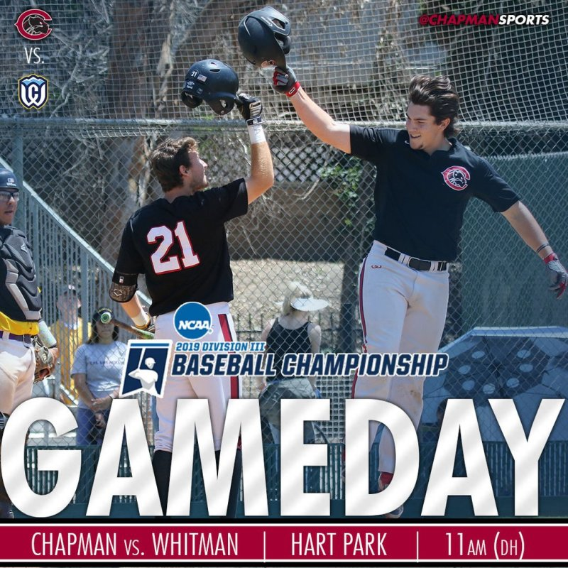 Two more today! Let's do this Panthers! #CUthere👀 #ChapmanU https://t.co/IhN5Mbt2NY