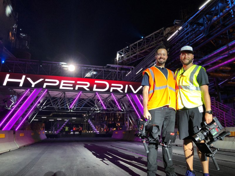 Fast and Furious Meets American Ninja Warrior in