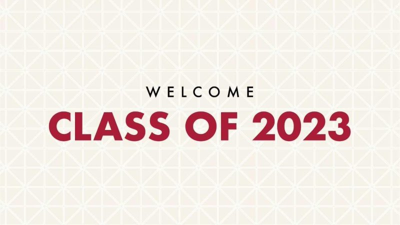 Welcome, Class of 2023! https://t.co/wmdc5GiCQ5