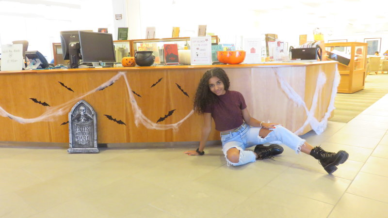 Halloween at the Leatherby Libraries