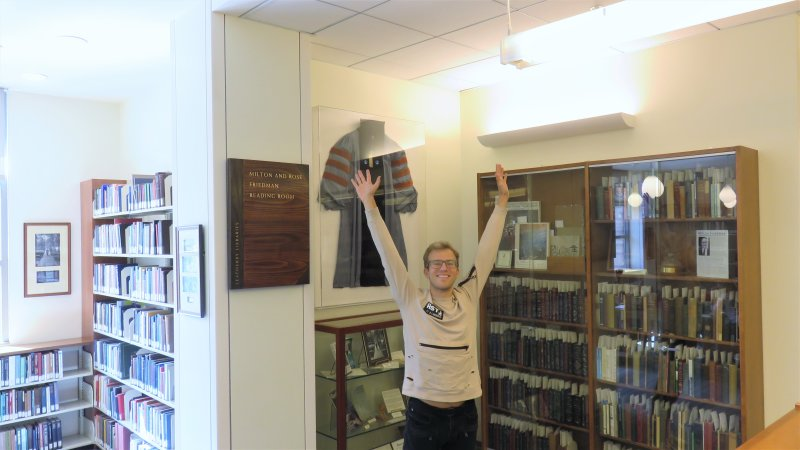 Exploring the Library: Milton and Rose Friedman Reading Room
