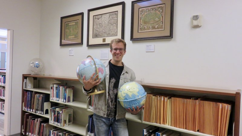 Exploring the Library: The Dillon Family Map and Geographic Information Center
