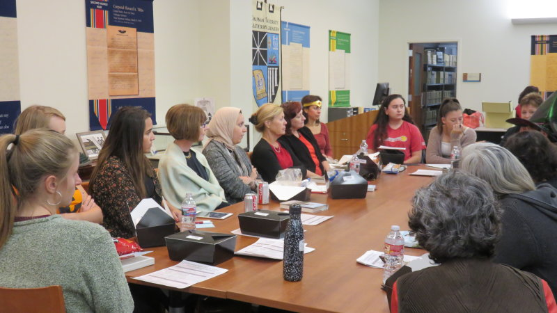 Book Club Discussion Centers on Border Issues
