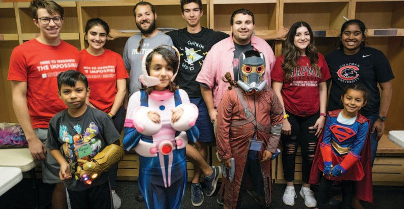 Students Utilize 3D Printing Skills to Craft Halloween Costumes for Local Trick-or-Treaters