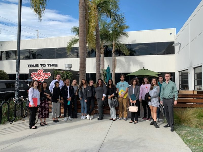 Students Take Trip to Volcom HQ