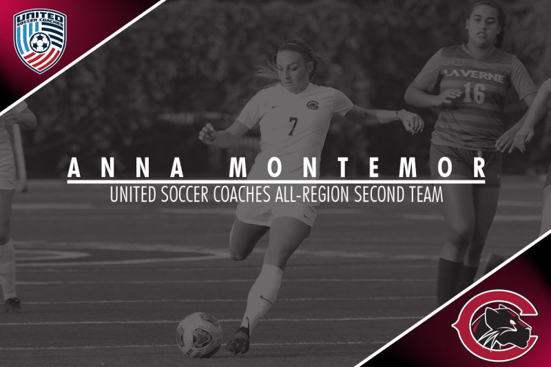 Finishing her first season at Chapman with All-Region honors! #weCUanna👀 #ChapmanU https://t.co/ArBrLJE5NS
