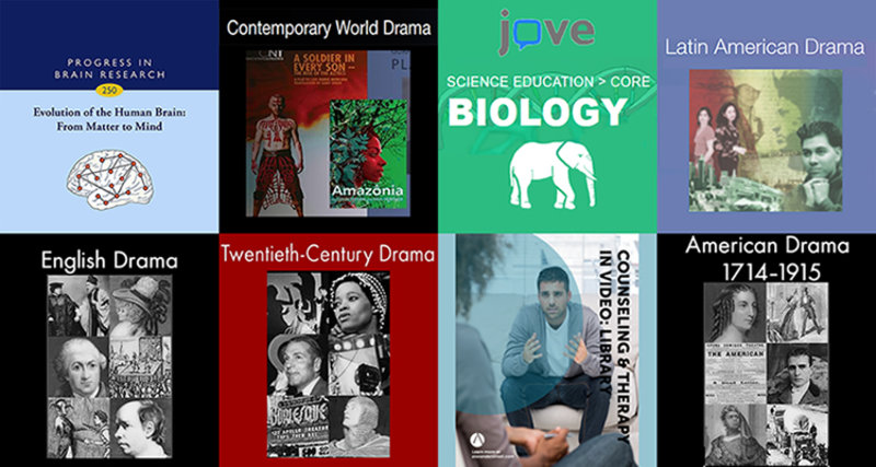 New Databases from the Leatherby Libraries