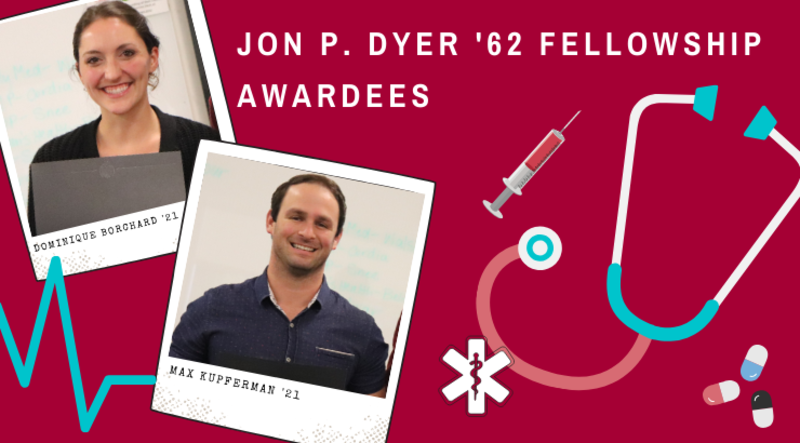 PA Students Receive Jon P. Dyer and Keith Dyer Fellowship Awards