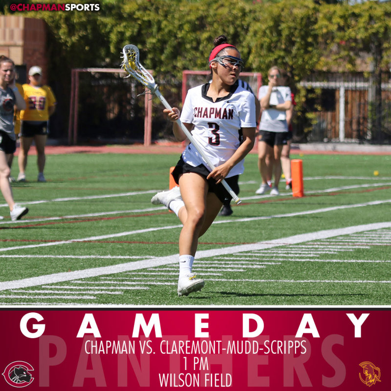 Panthers stay home to take on CMS today at 1pm! #CUthere👀 #ChapmanU https://t.co/NLWWgohJCv