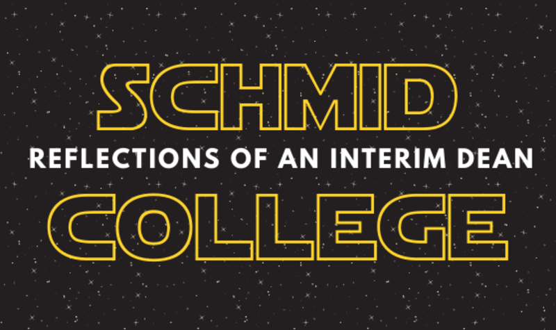 Reflections of an Interim Dean (A Star Wars Story)
