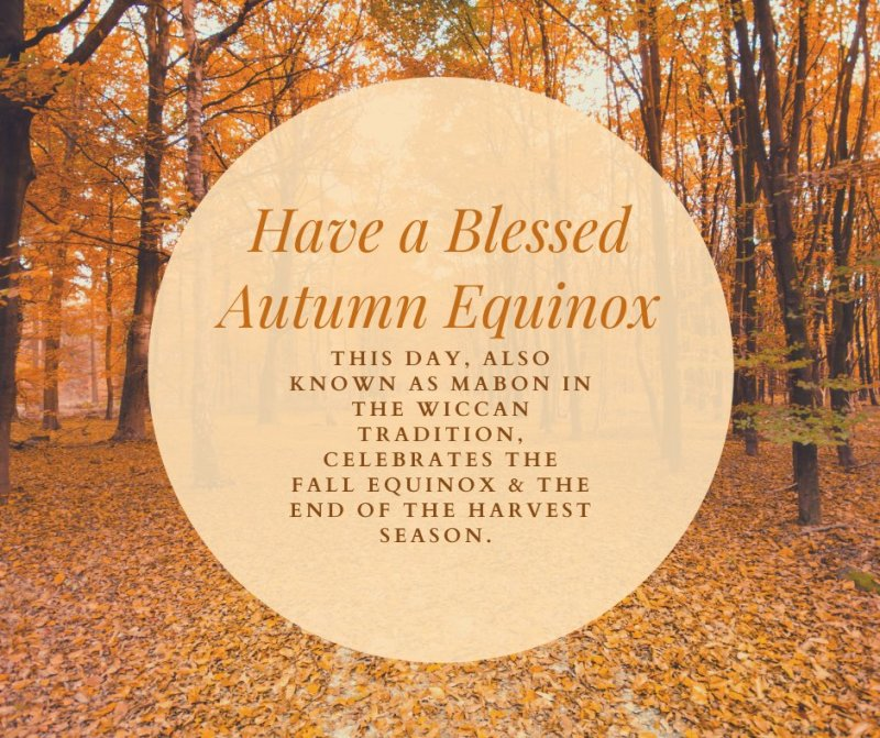 Have a blessed autumn equinox! #Mabon #ChapmanU https://t.co/Cs9OuNRW5l
