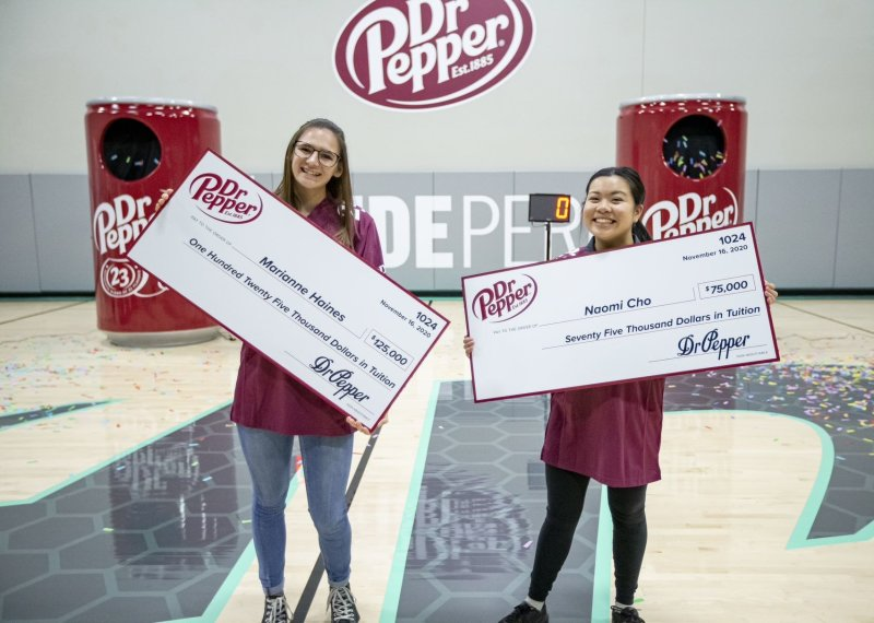 Dodge Student Wins in Dr. Pepper Tuition Giveaway