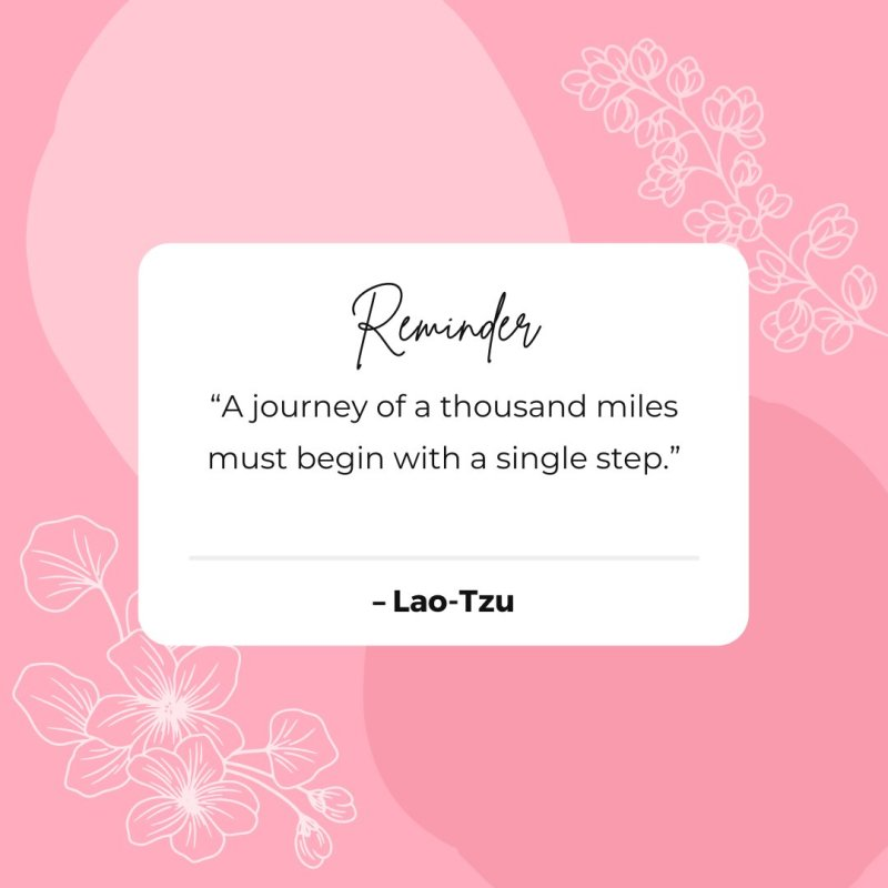 """A journey of a thousand miles must begin with a single step."" – Lao-Tzu #ThoughtfulTuesday https://t.co/HZs03ZReoJ"