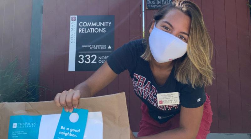 Student-Led Community Outreach Program Teaches Good Neighbor Habits