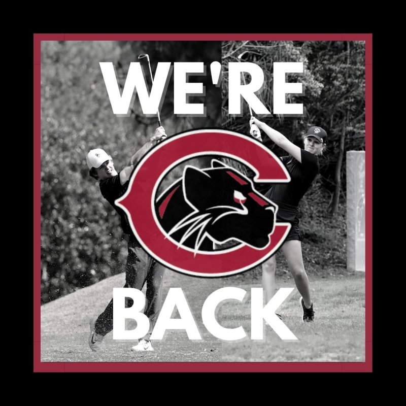 We. Are. Back! Chapman golf will officially get things started for us this weekend at SCIAC #1! #pawsup #ChapmanU https://t.co/K0hUmKnQRy