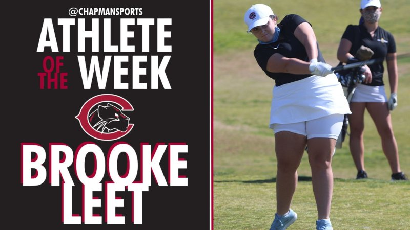 A career-best round. A career-best tournament. Congrats to our first Athlete of the Week of 2021, Brooke Leet! https://t.co/VsXBCCMlis