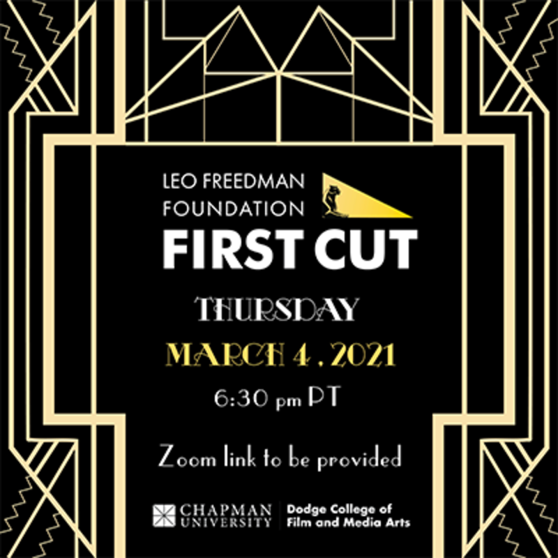 Join us Thursday, March 4th at 6.30p PST for FIRST CUT and watch this year's selected short films! Zoom link in bio! https://t.co/SRDQjdxg2k