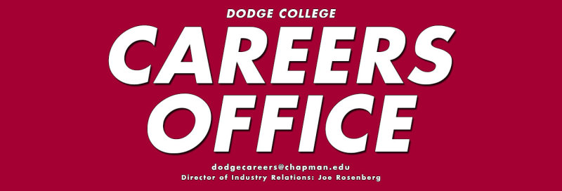Dodge Career Office Presents - Spring 2021 Workshops