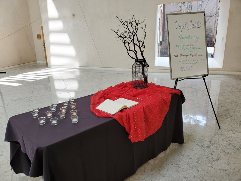 Why a Vigil Table? Why do we gather to remember those who have died?