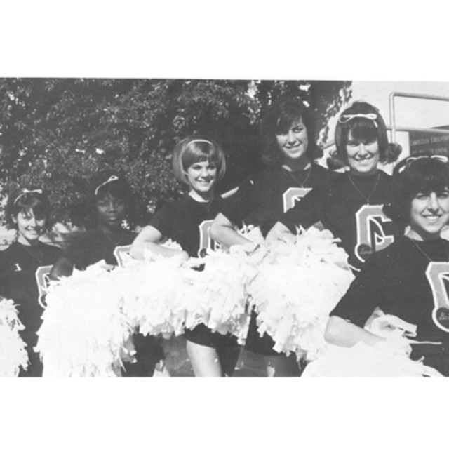 Photo: #ThrowbackThursday: Cheer and Song Team, 1966. Cheer on your Panthe...