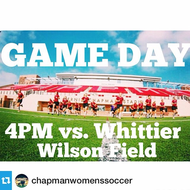 Photo: #Repost from @chapmanwomenssoccer with @repostapp --- Home game tod...