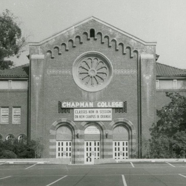 Photo: #ThrowbackThursday: Chapman College moved from Los Angeles to Orang...