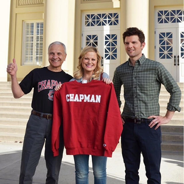 Photo: Being a Panther is no walk in the PARK, but Amy Poehler and Adam Sc...